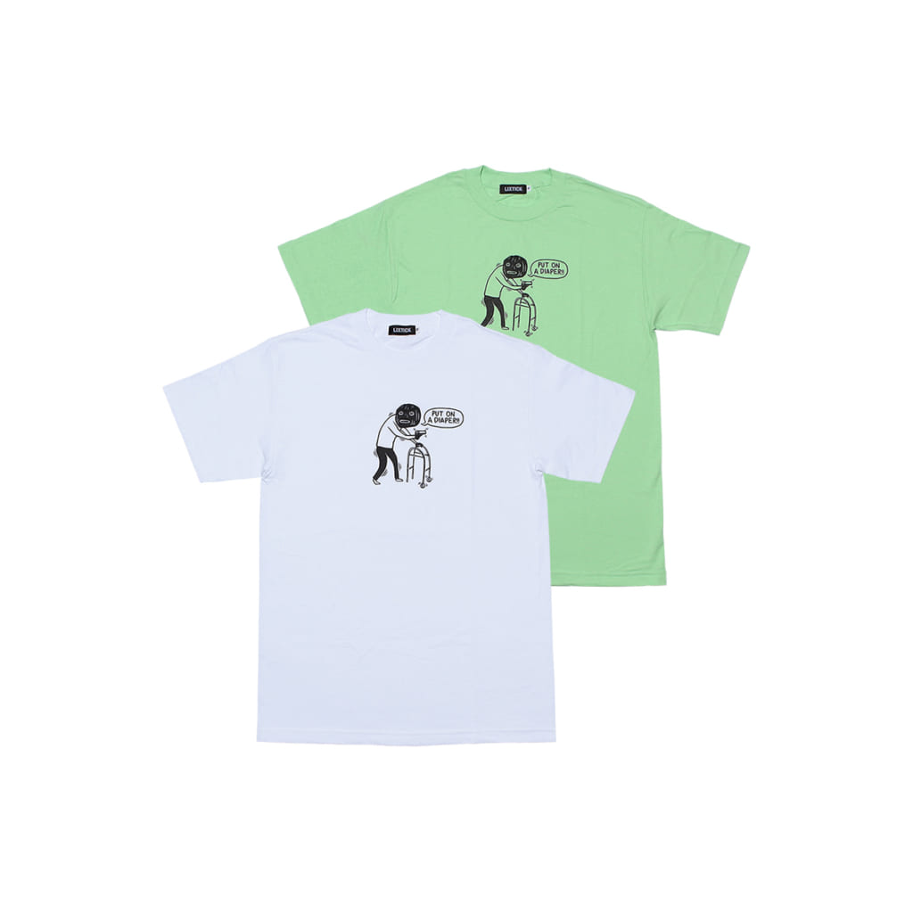 """LIXTICK """"OLD ROBBERY"""" T-SHIRT"""