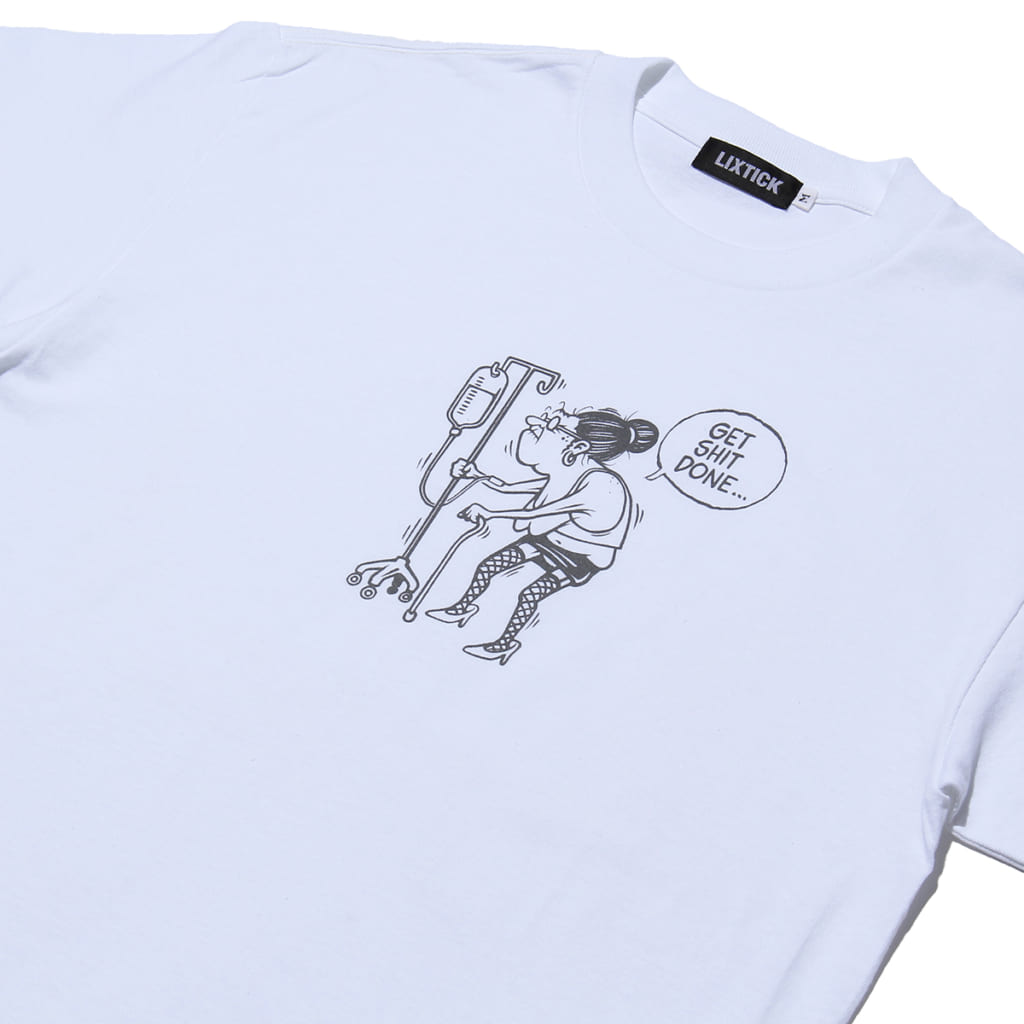 """LIXTICK """"OLD WHORE"""" T-SHIRT"""