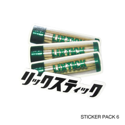 LIXTICK STICKER PACK 各種