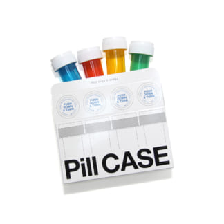 LIXTICK PiLL CASE (SMALL/4PACK)