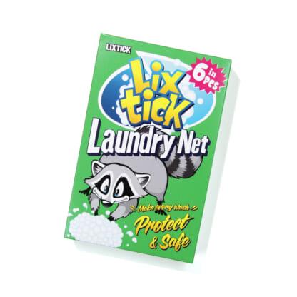 LIXTICK LAUNDRY NET 6PACK