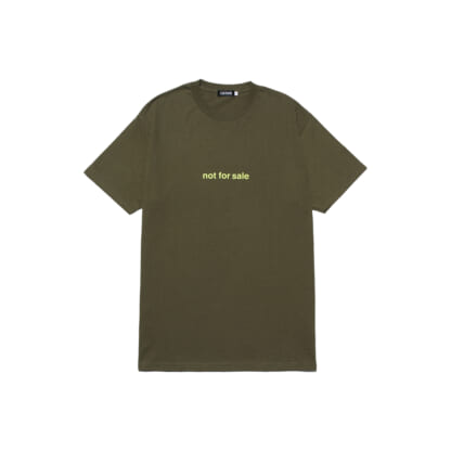 "LIXTICK ""NOT FOR SALE"" T-SHIRT"