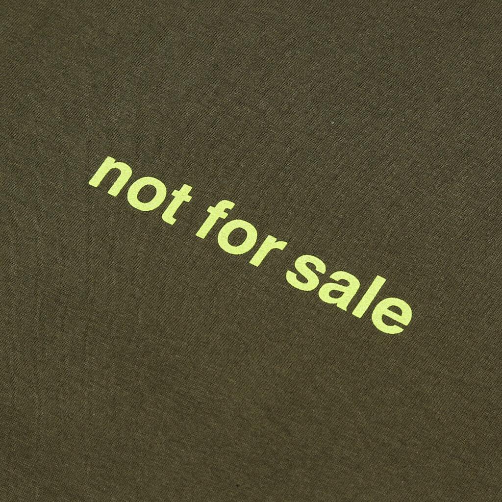 """LIXTICK """"NOT FOR SALE"""" T-SHIRT"""