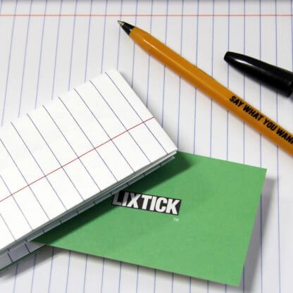 LIXTICK PAPER CASE