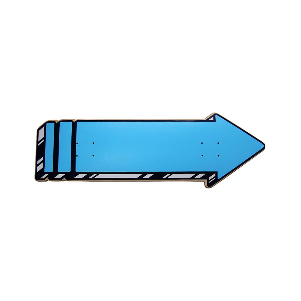 THE ARROW SKATEBOARD DECK