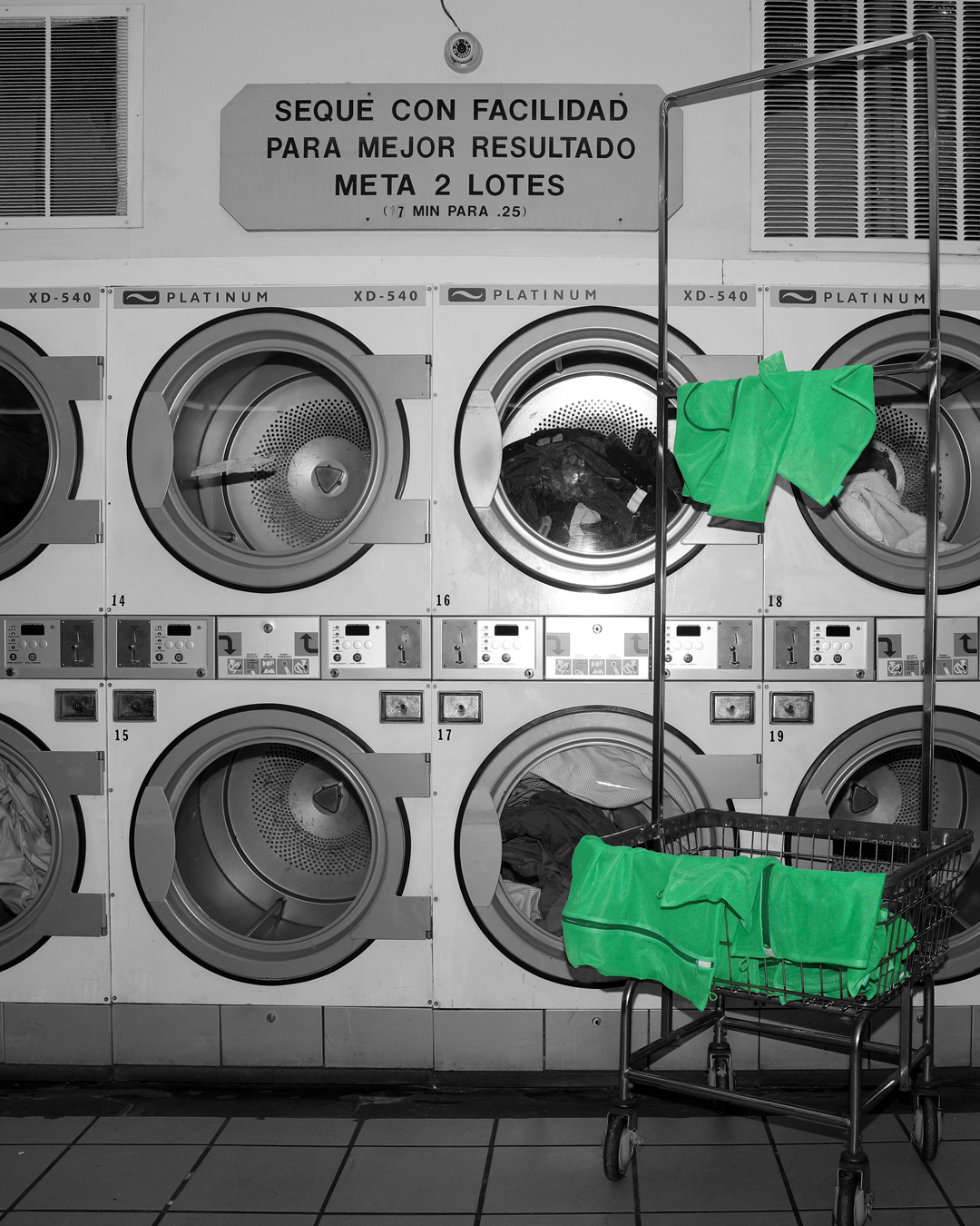 in LAUNDRY