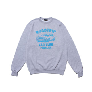 "LIXTICK × SO GOOD ISLAND ""ROADTRIP"" Crewneck"