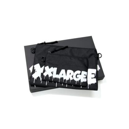 """LIXTICK® × XLARGE """"DRIP LOGO"""" POUCH SET 21ss 別注"""